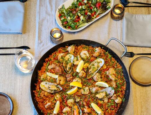 The Smoking Pan | Paella & Tapas + dessert | Authentiek Mediterraans Paella & Tapas menu!