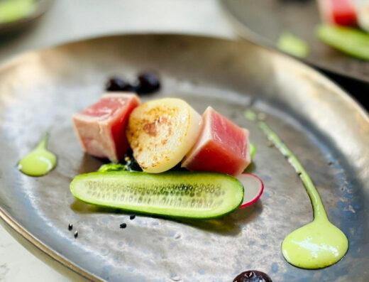 Sotto Lounge | 6 gangen + amuses & wijn | Culinaire wine&dine walking dinner door een sterrenchef!